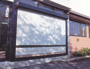 Extruded Security Roller Shutters